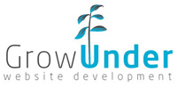 Logotipo Grow Under sem Design